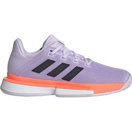 Adidas Solematch Bounce Hard Court W - Purple Tint/Core Black/Signal Coral