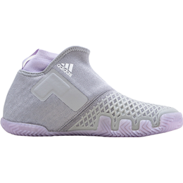 Adidas Stycon Hard Court W - Grey Two/Cloud White/Purple Tint