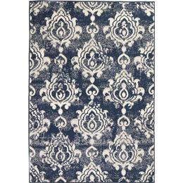 vidaXL Modern Paisley (120x170cm) Beige, Blå