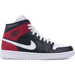 Nike Air Jordan 1 Mid W - Black/Noble Red/White