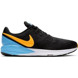 Nike Air Zoom Structure 22 M - Black/University Blue/White/Laser Orange