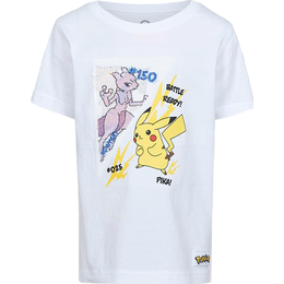 Cubus Ch Pmon T-shirt - White (7241979-900)