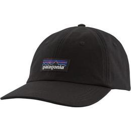 Patagonia P-6 Label Trad Cap - Black