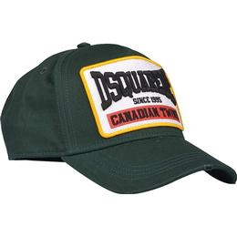 DSquared2 Patch Embroidered Baseball Cap - Dark Green
