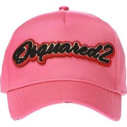 DSquared2 Baseball Cap with Sewn-on Logo - Pink