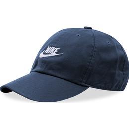 Nike Futura Washed H86 Cap Unisex - Obsidian/White