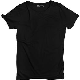 Bread and Boxers Crew-Neck Relaxed T-shirt - Black