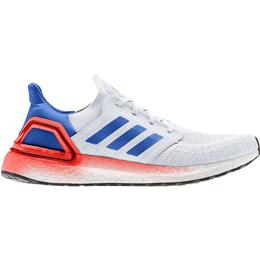 Adidas UltraBOOST 20 M - Crystal White/Glow Blue/Solar Red