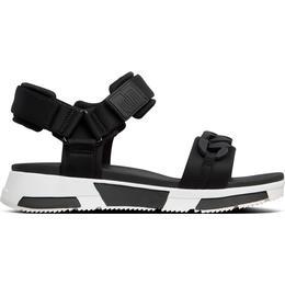 Fitflop Heda Chain Back Strap Sandals - Black