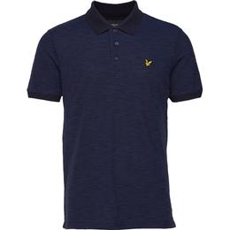 Lyle & Scott Space Dye Polo Shirt - Navy