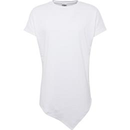 Urban Classics Asymetric Long T-shirt - White
