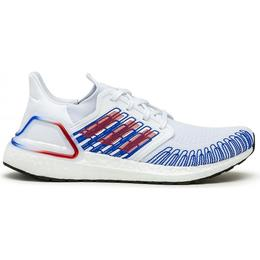 Adidas UltraBOOST 20 M - Cloud White/Scarlet/Royal Blue