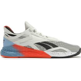 Reebok Nano X W - White/Fluid Blue/Vivid Orange