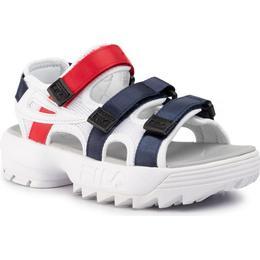 Fila Disruptor Sandal - White/Fila Navy/Fila Red