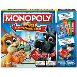 Hasbro Monopoly Junior Elektronisk Bank