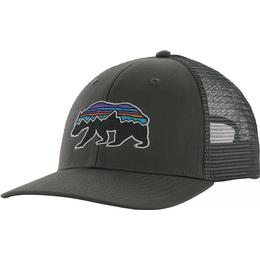 Patagonia Fitz Roy Bear Trucker Hat - Forge Grey
