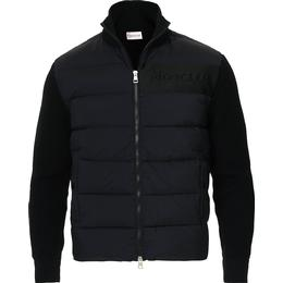 Moncler Padded Cardigan - Black