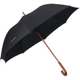 Samsonite Wood Classic S Walking Umbrella Black (108980-1041)