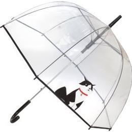 Susino Dome Umbrella Black Cat Clear (18016)