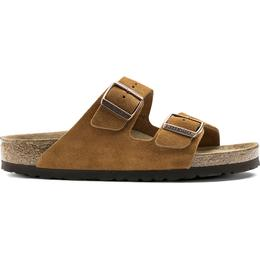 Birkenstock Arizona Soft Footbed Suede Leather - Mink