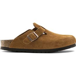 Birkenstock Boston Soft Footbed Suede Leather - Mink