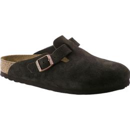 Birkenstock Boston Suede Leather - Mocha