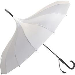Soake Pagoda Plain Umbrella White (BCSPPAWH)