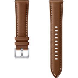 Samsung 20mm Stitch Leather Band for Galaxy Watch 3