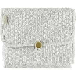 Cam Cam Changing Mat Quilted Grey Wave