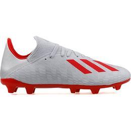 Adidas X 19.3 FG M - Silver Met/Hi-Res Red/Ftwr White
