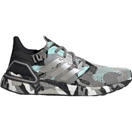 Adidas UltraBOOST 20 M - Core Black/Clear Granite/Frost Mint