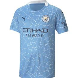 Puma Manchester City Home Replica Jersey 20/21 Youth