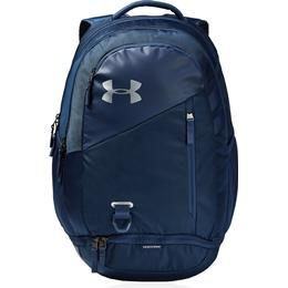 Under Armour Hustle 4.0 Backpack - Academy/Academy/Silver