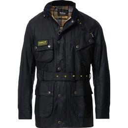 Barbour Slim Wax Jacket - Black