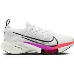 Nike Air Zoom Tempo Next% M - White/Hyper Violet/Flash Crimson/Black