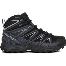 Salomon X Ultra 3 Wide Mid GTX M - Black/India Ink/Monument