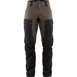 Fjällräven Keb Trousers Long - Black/Stone Gray