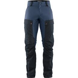 Fjällräven Keb Trousers Regular - Dark Navy/Uncle Blue