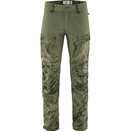 Fjällräven Keb Trousers Long - Green Camo/Laurel Green