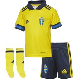 Adidas Sweden Home Jersey Mini Kit 20/21 Infant