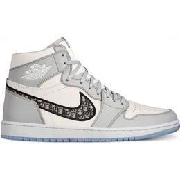 Nike x Dior Air Jordan 1 High M - Wolf Grey/Sail/Photon Dust/White