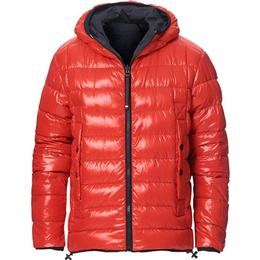 Moncler Grenoble Chambave Reversible Ripstop/Down Jacket - Navy/Red
