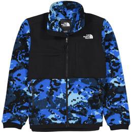 The North Face Denali 2 Fleece Jacket - Clear Lake Blue Digi Top FLC2 Print