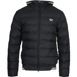 Fred Perry Insulated Jacket - Black