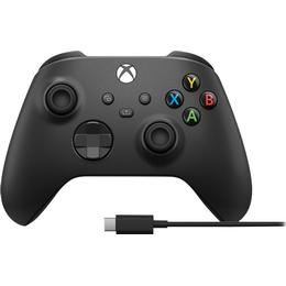 Microsoft Xbox Series X Wireless Controller + USB-C Cable - Black