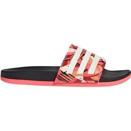 Adidas Adilette Comfort - Core Black/Linen/Signal Pink