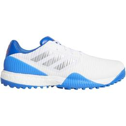 Adidas CodeChaos Sport Wide Golf M - Cloud White/Silver Metallic/Glow Blue