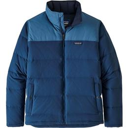 Patagonia Bivy Down Jacket - Stone Blue w/Woolly Blue