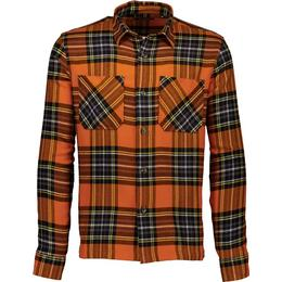 Shine Original Checkered Shirt - Orange/Orange