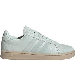 Adidas Grand Court W - Dash Green/Dash Green/Platinum Metallic